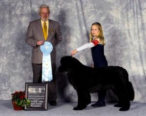 Porter - Best Puppy in 2008 Regional Specialty Show